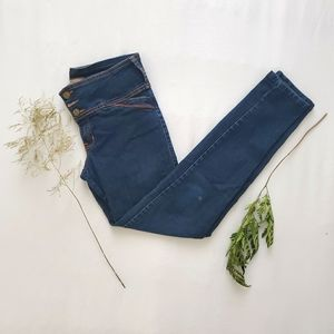 💙2/$16 or 3/$20💙 dark blue high-waisted skinny j